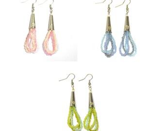 Bead Loops Handmade Earrings