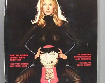 Playboy Magazine November 1972  with Vargas Girl