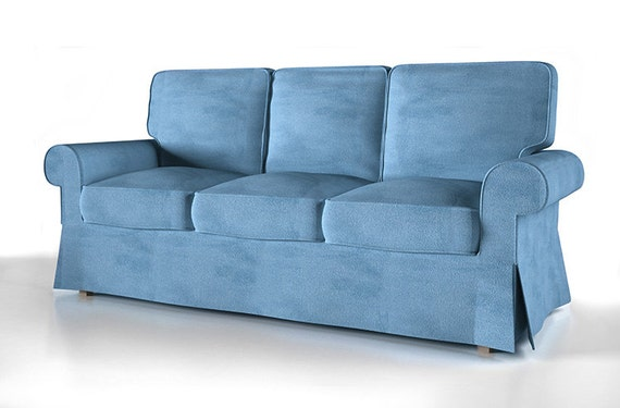 Slipcover for Ikea 3 seat Ektorp bed sofa
