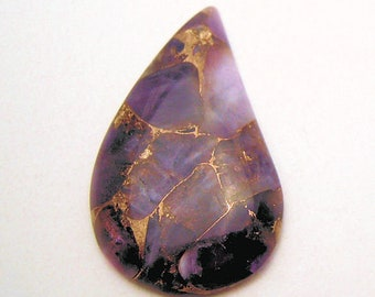 Superb Mohave Amethyst Cabochon