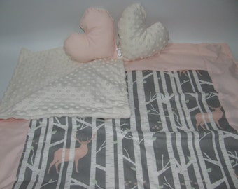 Cover deer crib pink