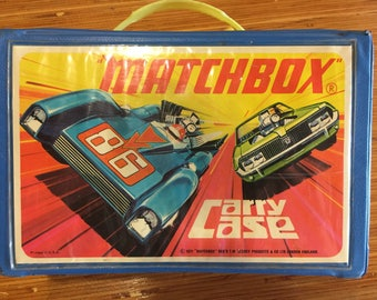 Matchbox carry case 1971. Holds 24 cars.