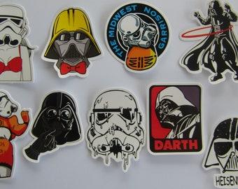 Humorous stickers Stars Wars