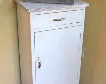 Jennifer reserved Metal Kitchen Cabinet, Mid Century