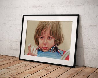 The Shining's Danny Torrance print