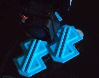 Bulk 3D Print Corner Cutter Guide for Bookbinding