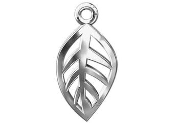 Charm Leaf Sterling Silver 925
