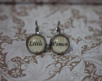 Little Women Earrings ~ Louisa May Alcott ~ March Sisters ~