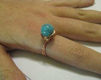 Worry Ring (acrylic bead)