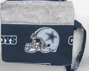 Dallas Cowboys NFL Football Wristlet Custom Made Embroidered