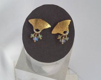 Moth earrings Swallowtail Moth earrings