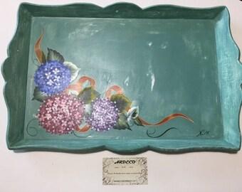 Wooden tray / Breakfast tray / Wood tray / Serving tray / Decorative tray