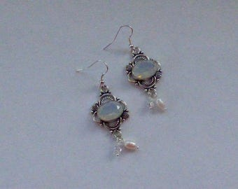BAROQUE OPALITE EARRINGS