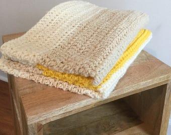Crotchet baby blanket