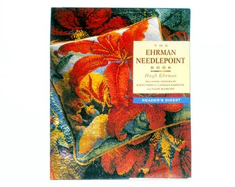 Ehrman Needlepoint Book, Needlepoint Book, Needlepoint Patterns, Craft Books, Sewing Books, Hobbies, Sewing by NewYorkTreasures on Etsy