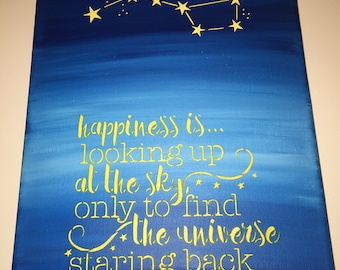 Happiness in the Stars