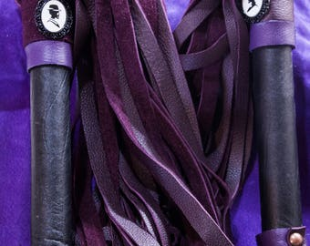 His and hers matching set of floggers
