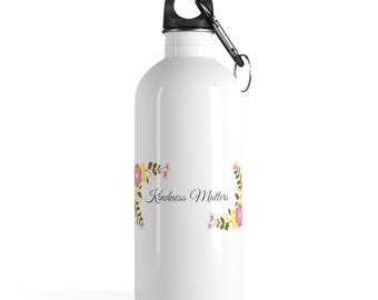 Kindness Matters Stainless Steel Water Bottle
