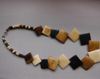 products glass african image necklace large bone designs bead and nq