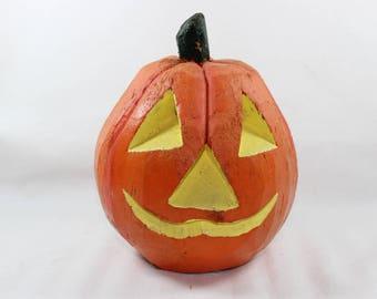 Coconut Halloween Jack O' Lantern Pumpkin Handcrafted Made in Philippines