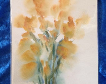 Golden Bouquet Giclee Print