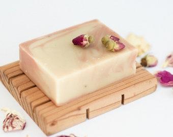 Rose Geranium + Argan Oil Soap