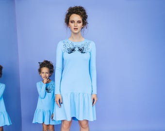Never-ending Story - dress with frill