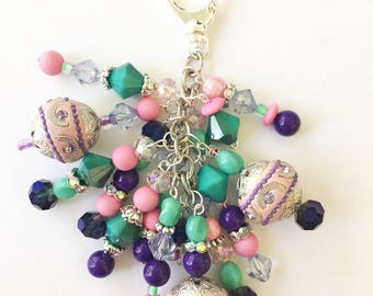 Super Short & Chunky Charm - Planner Charm, Purse Bling, Zipper Pull, Travelers Notebook Charm