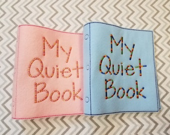 Build a Busy Book Cover, Quiet Book, Activity Book, Girl Quiet Book, Boy Quiet Book, Kid Birthday Present