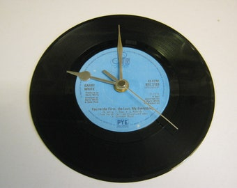 """Barry White - You're The First, The Last, My Everything - 7"""" Vinyl Record Wall Clock Gift"""