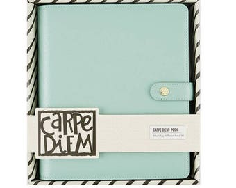 Carpe Diem A5 Planner - Robin's Egg ,Binder Only