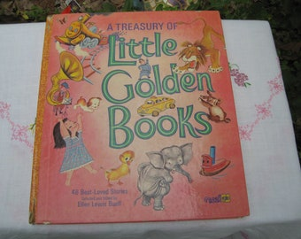 Treasury Little Golden Books 48 Story Ellen Lewis Buell Large Colorful Priced to sell