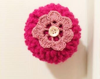 Door knob cover, crochet door knob cover, door decor, handmade, door decor, housewarming gift, toddler protection, clean knobs,MADE TO ORDER