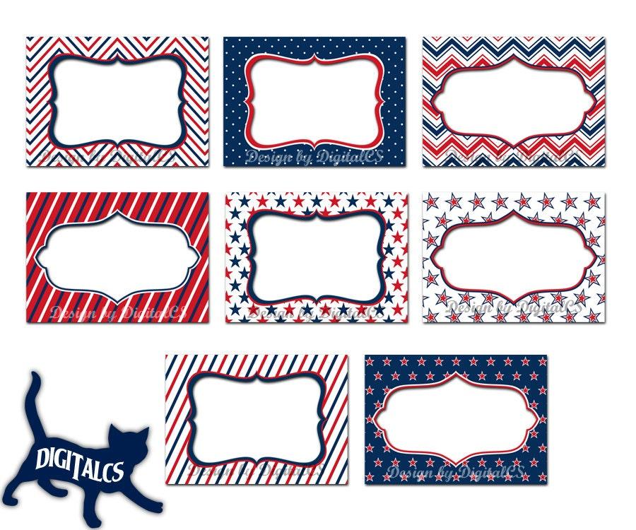 4th of July Clipart frames digital frame clipart clip art ...