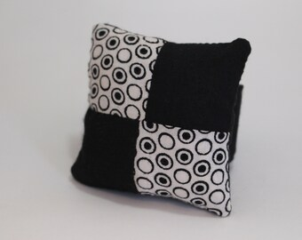 Wrist Pin Cushion with Adjustable Velcro Strap - Vitange Indian cotton pincushion