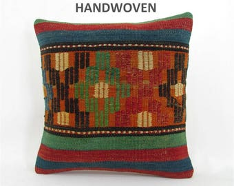 outdoor pillow kilim pillow cover boho wedding gift decorative pillows for patio furniture pillows 001074 Mothers Day Gift For Mom