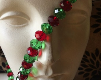 Red and Green Holiday Beads!