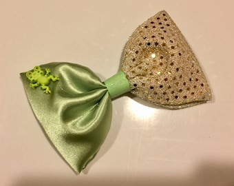 Princess and the Frog bow