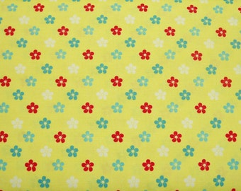 STORE CLOSING SALE - End of Bolt - Amelie, Yellow, Henry Glass, 100% Cotton Quilt Fabric, Yellow Fabric, Floral Fabric, Quilting Fabric