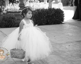 ivory flower girl dress, ivory tutu dress, ivory dress, ivory girls dress, girls dress, ivory baby dress, baby dress, tutu dress, ivory