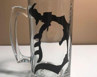 Michigan D Beer Mug