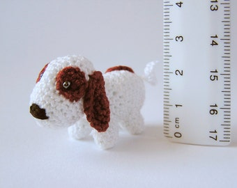 Crochet Miniature Dog, Crochet Dog, Crochet Miniature, Crochet Animal, Dog Toy, Miniature Dog