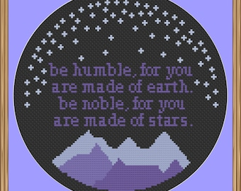 Made of Stars Cross Stitch Pattern PDF Download