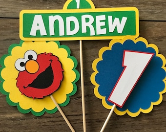 Elmo Birthday Centerpiece