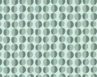 Riley Blake Fiona's Fancy by Lia Tueller- Blue Dots Fabric- 17""