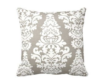 Decorative Pillows for Sofa Pillows Beige Pillow Cover Decorative Throw Pillow Beige Cushion Cover 18 x 18 Pillow Damask Pillow Toss Pillows