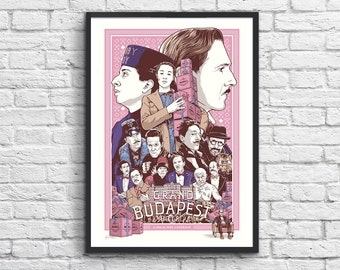 Art-Poster 50 x 70 cm - The Grand Budapest Hotel