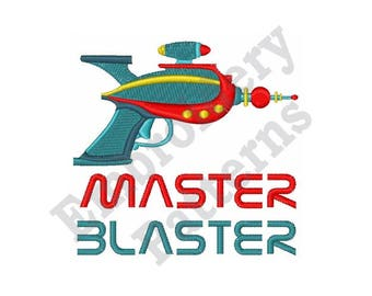 Master Blaster - Machine Embroidery Design