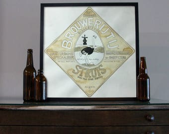 Beer Art - Craft Beer Art - Beer Painting - Brouwerij't IJ  Beer Art