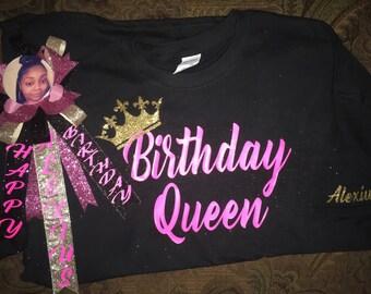 Birthday Set; Matching Pin and Shirt